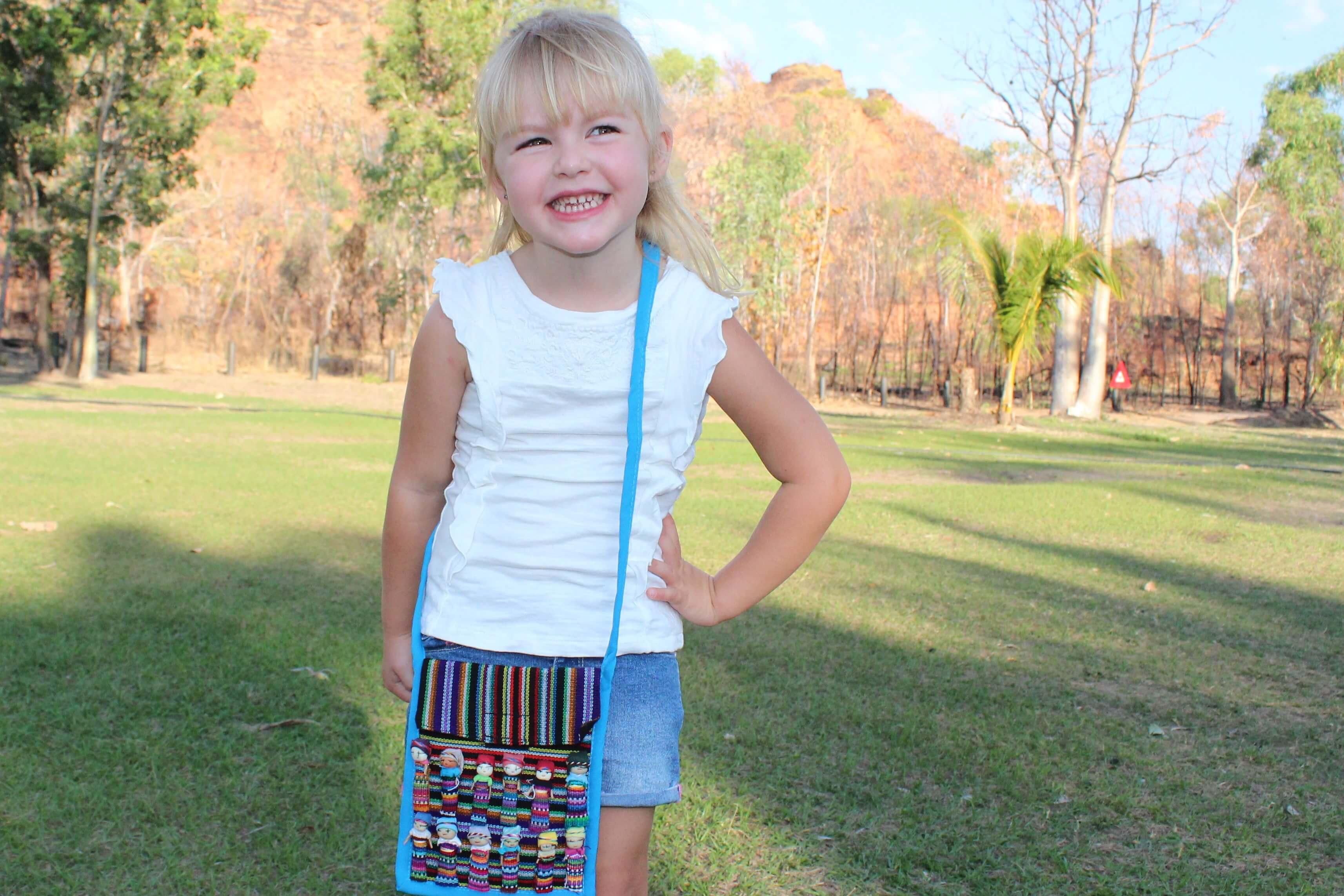 Worry Doll Shoulder Bag | Mindful Little Minds
