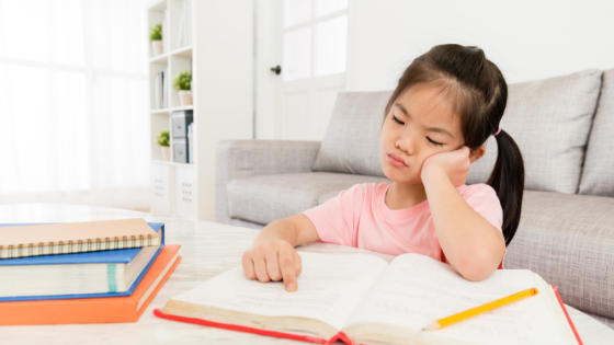 How to help your child with negative self talk