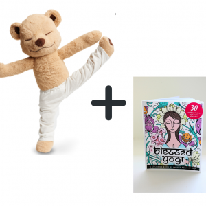 Meddy Teddy and Colouring Book Bundle