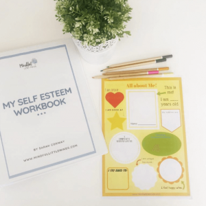 My Self Esteem Workbook: Self esteem boosting activities for kids | Mindful Little Minds