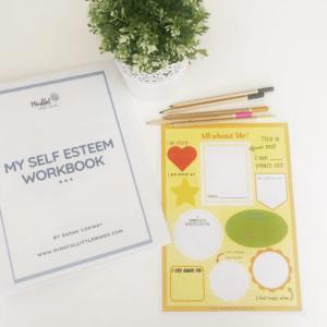 My Self Esteem Workbook: Self esteem boosting activities for kids | Mindful Little Minds