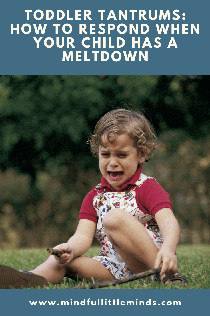 Toddler Tantrums: How to respond when your child has a meltdown