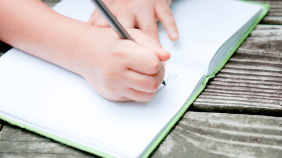 How to stat a gratitude journal with your child | Mindful Little Minds
