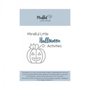 Mindful Little Halloween Activities | Mindful Little Minds