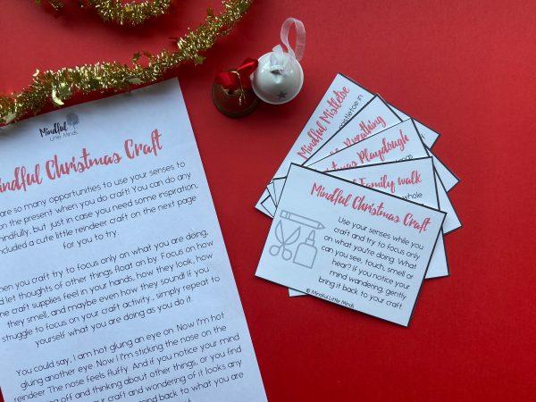 Mindful Little Advent Cards   Mindfulness Advent Calendar for kids   Mindful Little Minds